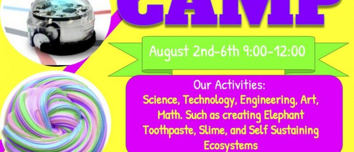 STEAM Camp Flyer