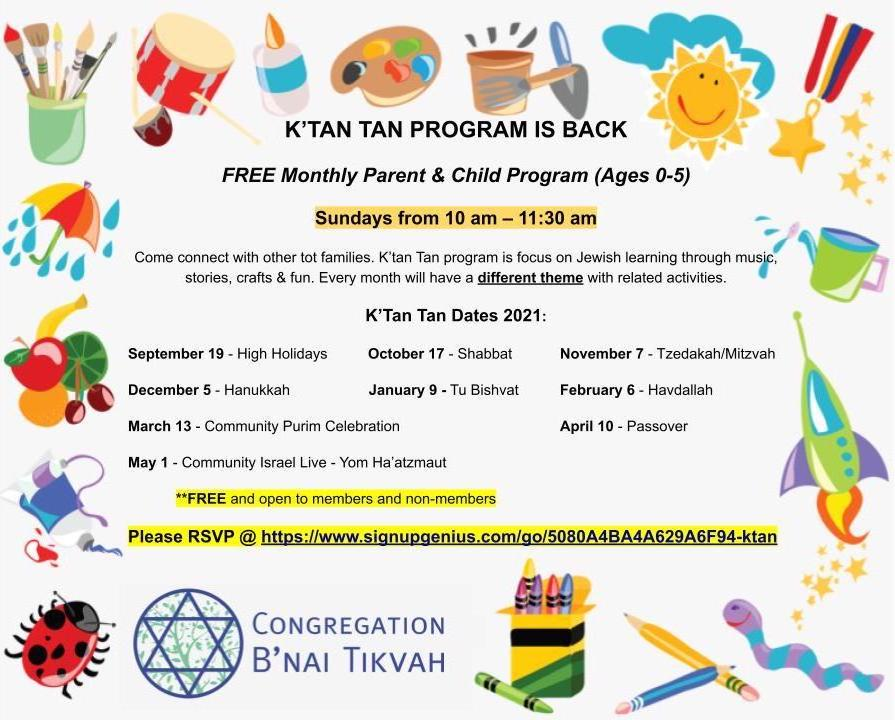 Ktan Tan Flyer 2021-2022